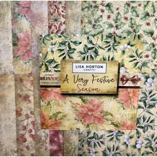 Lisa Horton Crafts - A Very Festive Season Paper Pad