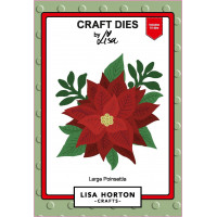 Lisa Horton Crafts - Large Poinsettia Die Set