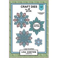 Lisa Horton Crafts - Large Snowflake Die Set