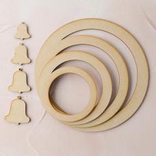 Lisa Horton Crafts - MDF Festive Wreath Set