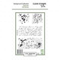 Lisa Horton Crafts - Textures A6 Stamp Set