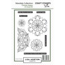 Lisa Horton Crafts - Choose Happy Mandala Stamps