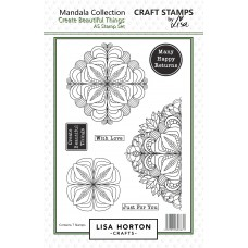 Lisa Horton Crafts - Create Beautiful Things Mandala Stamp Set
