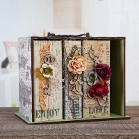 Lisa Horton Crafts - MDF Bookcase & Book Covers