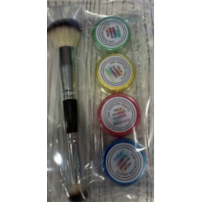 Lisa Horton Crafts - Mica Powder Set With Brush