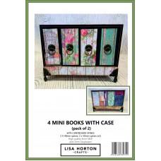 Lisa Horton Crafts - 4 Mini Books with Case