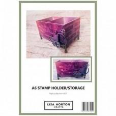 Lisa Horton Crafts - MDF A6 Stamp Storage Holder