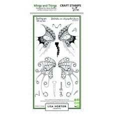 Lisa Horton Crafts - Wings and Things DL Stamp Set