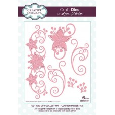 Cut and Lift Collection - Flourish Poinsettia Craft Die