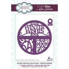 Split Circles - Winter Wishes Craft Die