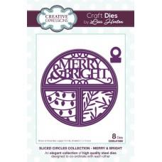 Split Circles - Merry & Bright Craft Die