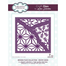 Broken Tiles Collection - Wintry Skies Craft Die