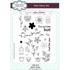 Best Bud A5 Clear Stamp Set