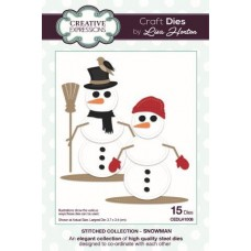 Stitched Collection - Snowman