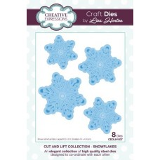 Cut and Lift Collection - Snowflakes Craft Die