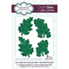 Cut and Lift Collection - Festive Foliage Craft Die