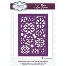Background Collection - Snowflake Rounds Craft Die