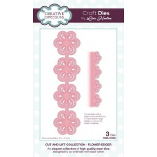 Cut and Lift Collection - Flower Edger Craft Die