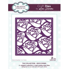 Tile Collection - Deco Roses Craft Die