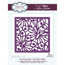 Tile Collection - Butterfly Burst Craft Die