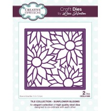 Tile Collection - Sunflower Blooms Craft Die