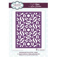 Background Collection - Roses Craft Die