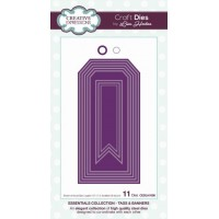 Stitched Collection Tags & Banners Craft Die