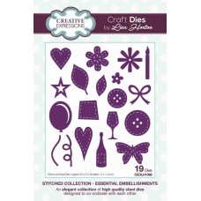 Stitched Collection - Essential Embellishments Craft Die
