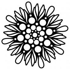 Creative Expressions Mask - Bubble Mandala