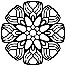 Creative Expressions Mask - Dahlia Mandala
