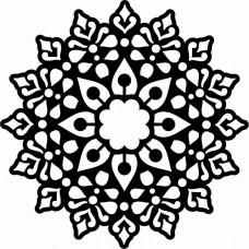 Creative Expressions Mask - Lotus Mandala