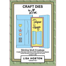 Lisa Horton Crafts - Slimline Multi Envelope Die