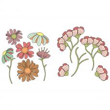 Lisa Horton Crafts - Floral Die Bundle