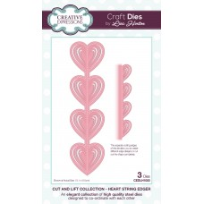 Cut and Lift Collection - Heart String Edger