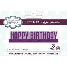 Wording Edgers - Happy Birthday