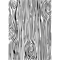 CE Embossing Folder 5 x 7 - Skinny Woodgrain