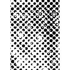 CE Embossing Folder 5 x 7 - Altered Hexagons