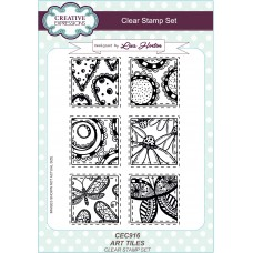 Art Tiles - A5 Clear Stamp Set