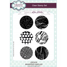 Inverted Circle - A5 Clear Stamp Set