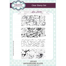 Background Slices - A5 Clear Stamp Set