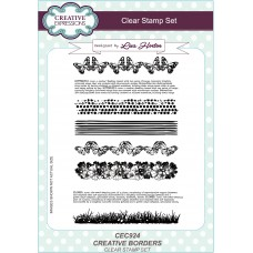 Creative Borders - A5 Clear Stamp Set