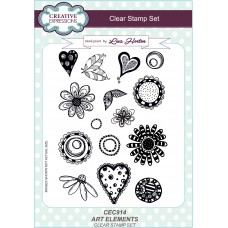 Art Elements A5 Clear Stamp Set