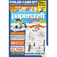 Papercraft Essentials - Issue 174 - Wallace & Gromit Special