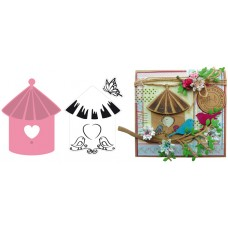 Marianne Design Collectables - Bird House Birds
