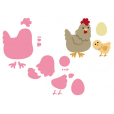 Marianne Design Collectables - Mother Hen Die Set