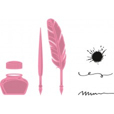 Marianne Design Collectables - Quill Pen & Ink