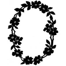 Marianne Design Craftables - Flower Border Oval