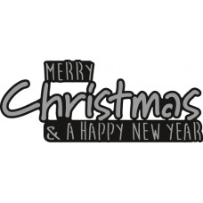Marianne Design Craftables - Merry Christmas