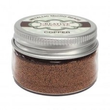Metallic Micro Beads - Copper