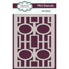 Creative Expressions - Mini Stencil - Art Deco